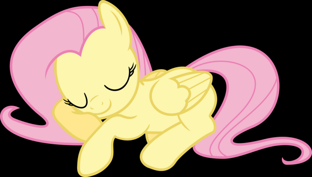 File:FANMADE, fluttershy taking a nap.png