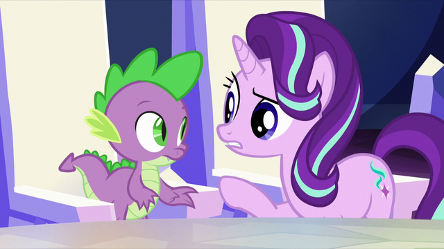 "File:Starlight ""increases the Crystal Heart's power?"" S6E1.png"