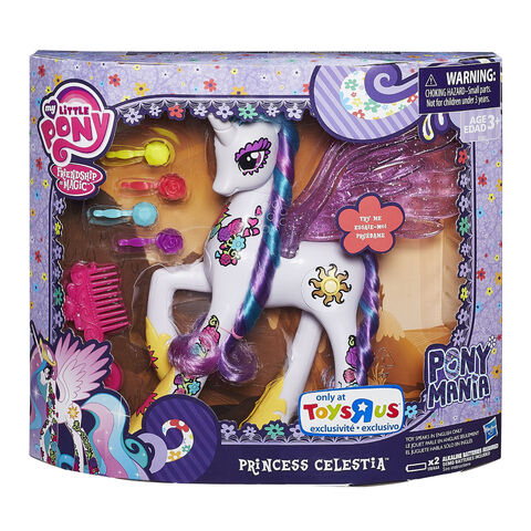 File:Princess Celestia Ponymania doll packaging.jpg