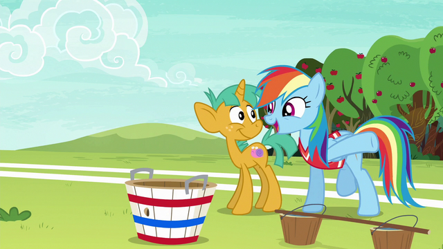 "File:Rainbow ""one step closer to crushing Appleloosa!"" S6E18.png"