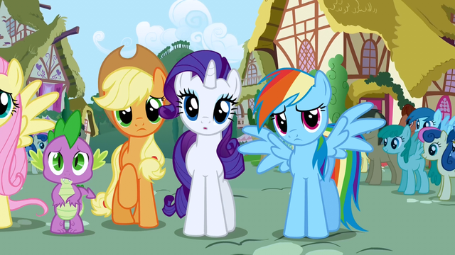 File:Rainbow Dash sad S1E2.png