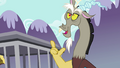 "Discord ""Soon there won't be a Pegasus, Earth pony or unicorn"" S4E26.png"
