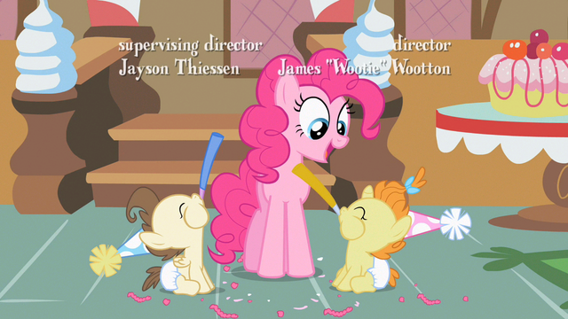 File:Pinkie Pie & Twins cheerful S2E13.png