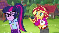 "Sunset Shimmer ""you could learn to control it"" EG4"