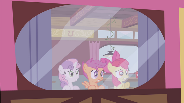 "File:Cutie Mark Crusaders ""this is bad"" S4E15.png"