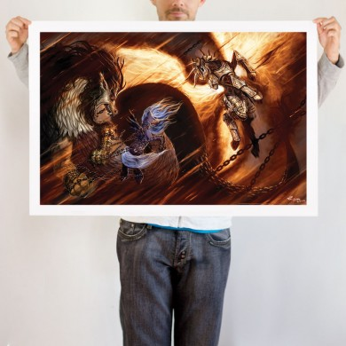 File:Epic Mare Battle art print WeLoveFine.jpg
