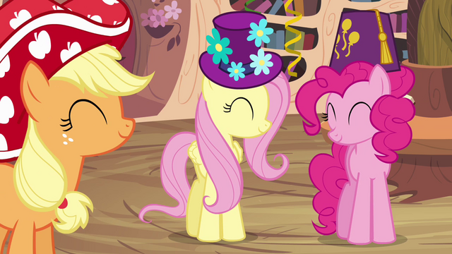 File:Main ponies in agreement S4E04.png