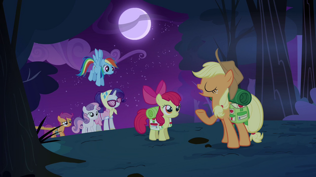 File:Applejack 'No need for tents tonight' S3E06.png