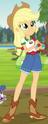 Applejack Camp Everfree outfit ID EG4