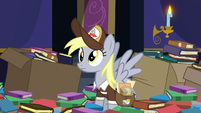 Derpy with 'fixed' derp eyes S6E25