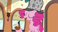 Pinkie Pie knows who did it S2E24