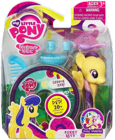 File:Pony Wedding Sunny Rays Playful Pony with DVD.jpg