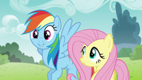 """Rainbow """"you're scary good at this"""" S5E19"""