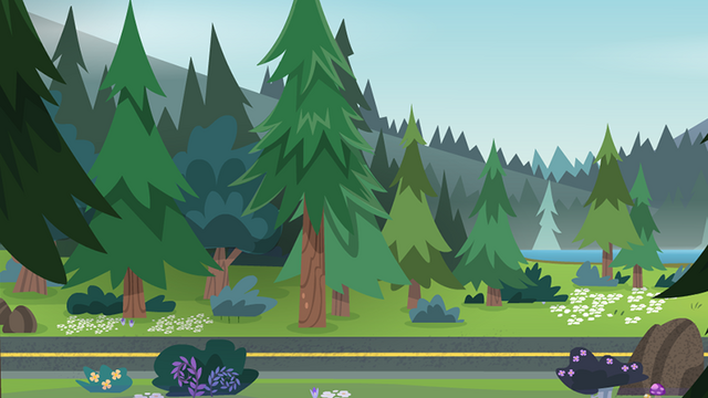 File:Legend of Everfree background asset - wooded highway 2.png