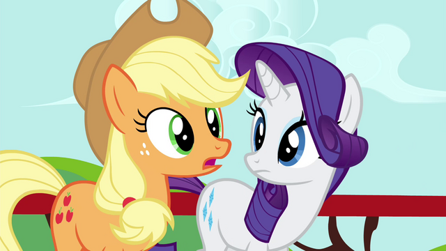 "File:Applejack ""What is it, Twilight?"" S4E21.png"