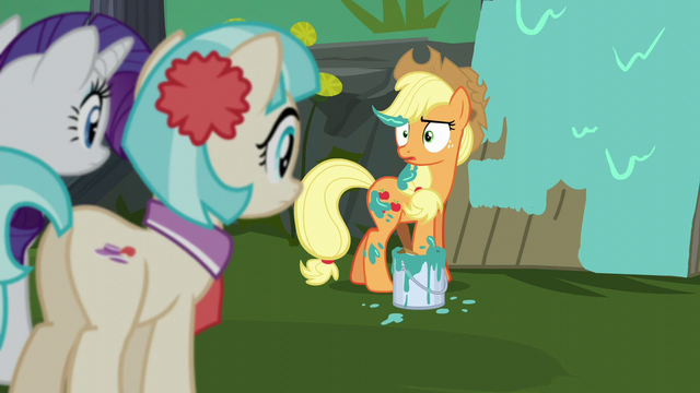 File:Applejack steps in a paint bucket S5E16.png