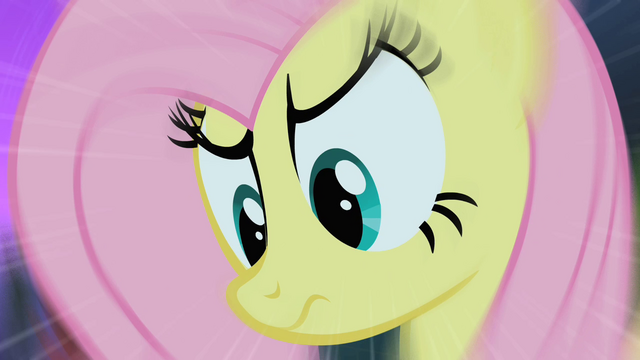 File:Fluttershy and The Stare S01E17.png