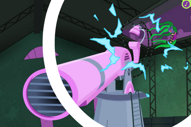File:PPG ending - Mane-iac hit by recoil.png