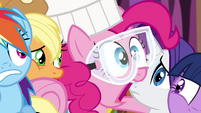 "Pinkie Pie ""I gotta get out of here!"" S4E18"