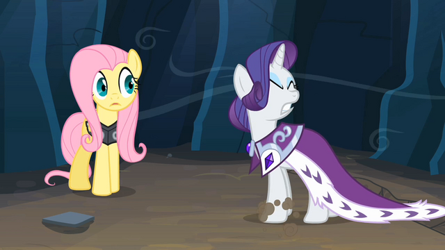 File:Rarity yellin & Fluttershy surprised S2E11.png