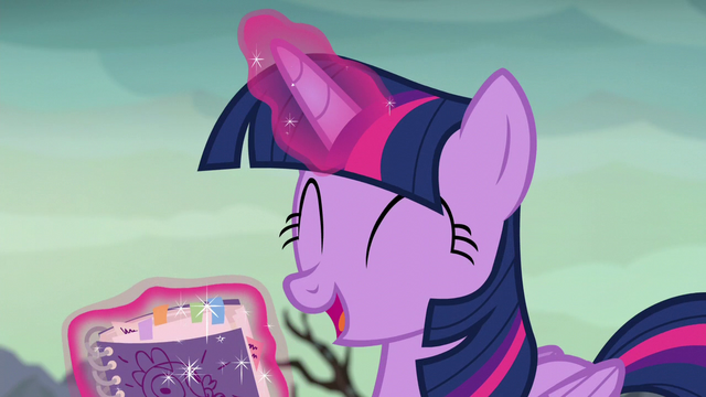"File:Twilight ""a whole book on dragons!"" S6E5.png"