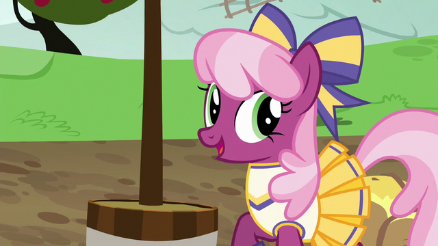 "File:Miss Cheerilee ""I get to say this twice"" S6E14.png"