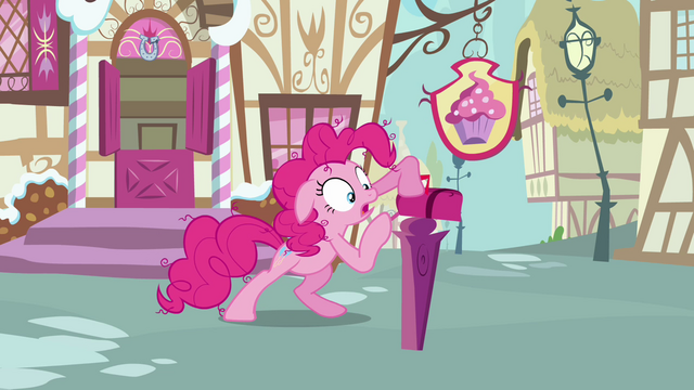 File:Pinkie Pie checking on the mailbox again S3E07.png
