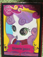 Sweetie Belle Enterplay series 2 foil trading card