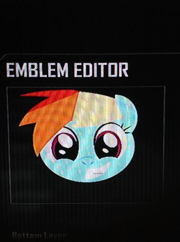 File:FANMADE Rainbow Dash Black Ops 2 Emblem.jpg