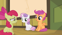 "Scootaloo ""we'll be here for you"" S4E17"