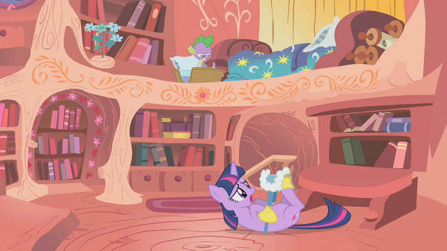File:Twilight Sparkle Struggling S1E11.png