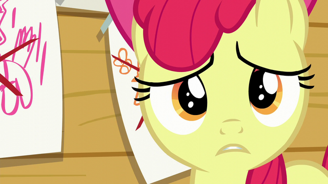 "File:Apple Bloom ""Of course, I'm allergic"" S6E4.png"