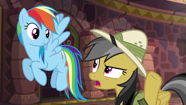 "File:Daring Do ""is he always like this?"" S6E13.png"
