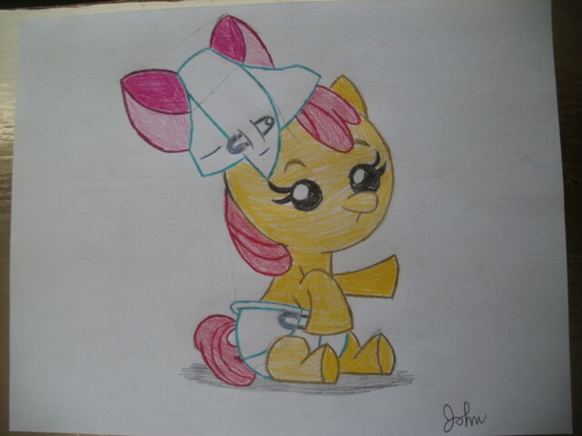 File:FANMADE Baby Apple Bloom drawing.jpg
