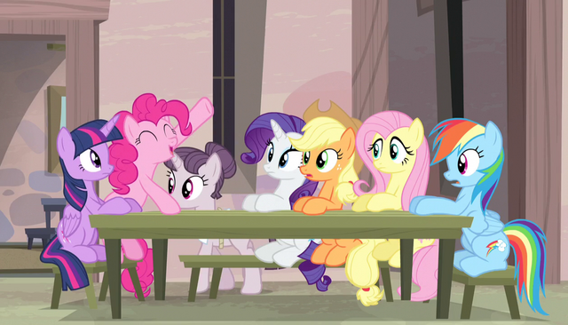 "File:Pinkie Pie ""make that twelve!"" S5E1.png"