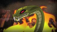 """Chimera's snake head """"three!"""" S4E17"""
