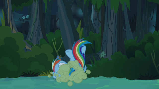 File:Rainbow Dash tossed aside S4E04.png