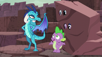 "Spike ""I, uh, guess I don't understand dragon customs"" S6E5"