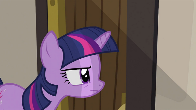 File:Twilight taking a peek S2E25.png