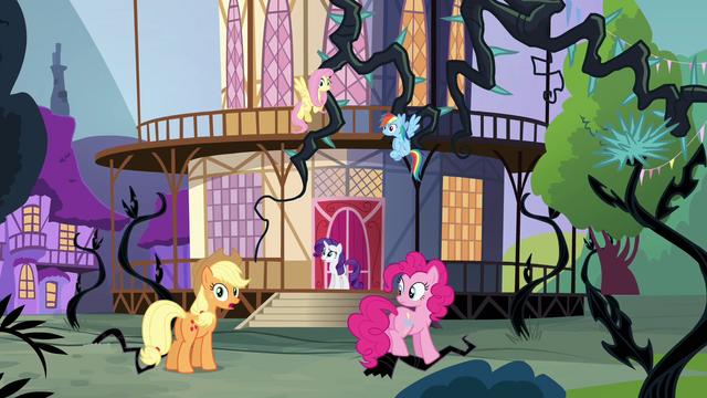 "File:Applejack ""half of Equestria"" S4E01.png"