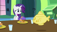 Rarity not the dress S3E10