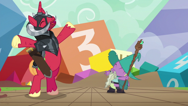 File:Garbunkle and Sir McBiggen excited S6E17.png