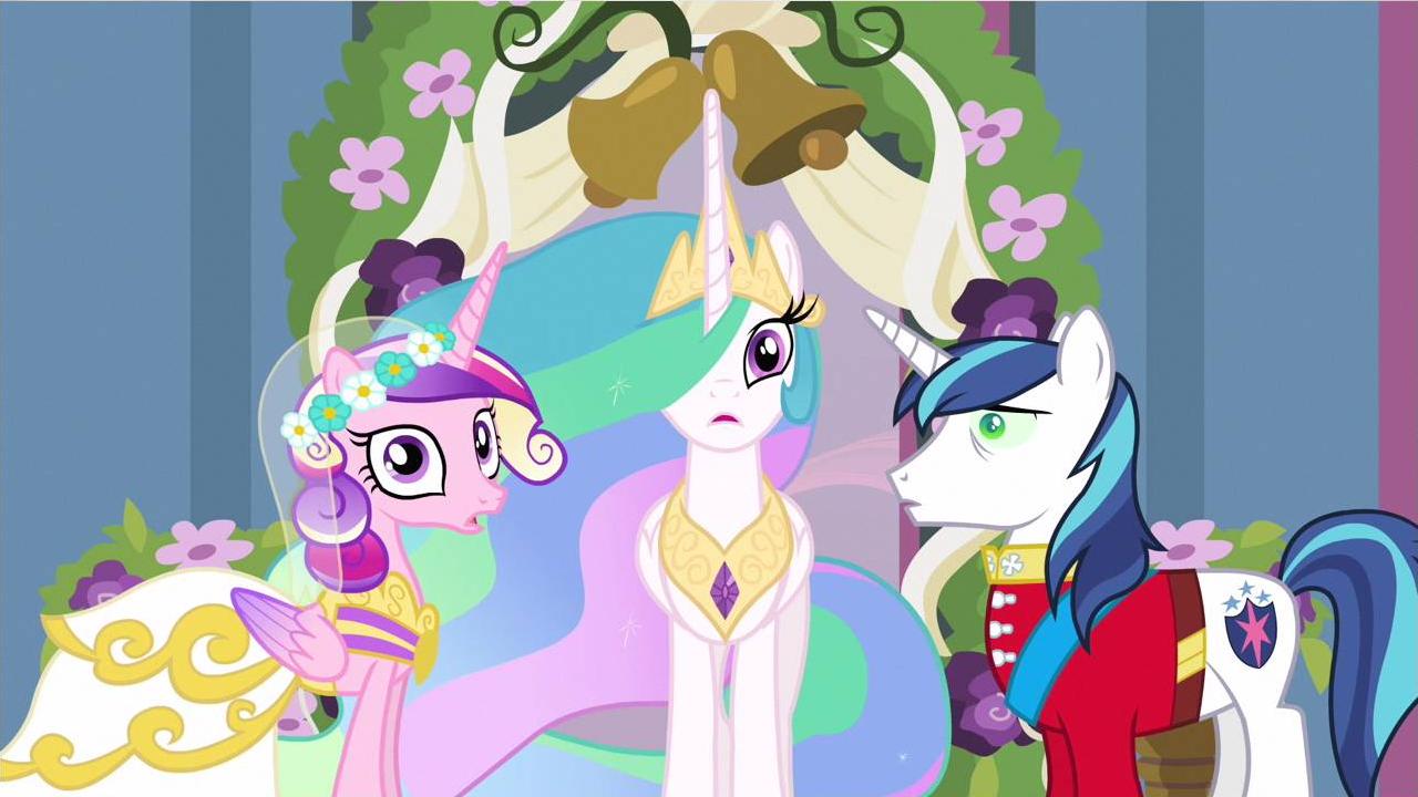 Princess Cadance Wedding Crashed S2e26