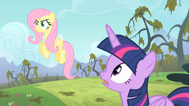 File:Twilight telling Fluttershy to stop staring S4E07.png