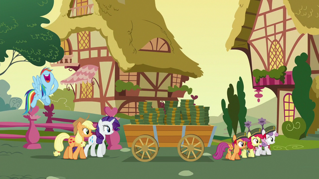 File:Crusaders hauling cart of boxes at sunset S6E15.png