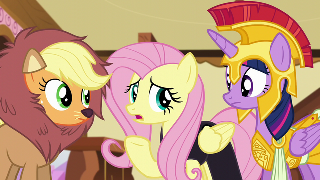 "File:Fluttershy ""somepony were to leap out in front of me"" S5E21.png"