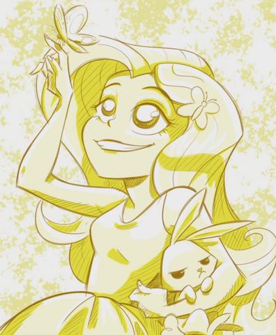 File:Fluttershy illustration by Katrina Hadley cropped EG2.png