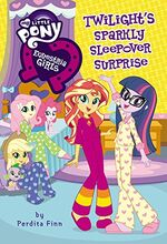 Twilight's Sparkly Sleepover Surprise book cover