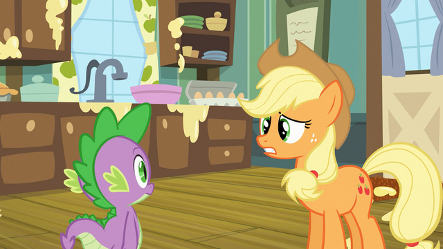 "File:Applejack ""I can take it from here"" S03E09.png"