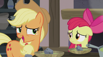 Applejack looking on the bright side S5E20